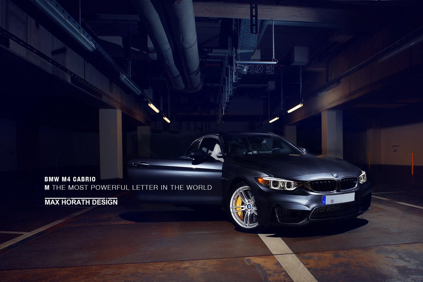 Autofotografie BMW M4 Cabrio M GmbH – Carshooting Auto Fotos Bilder DIY