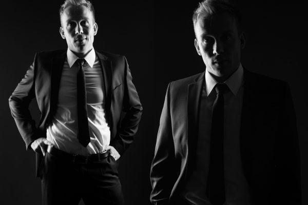 Black & White Men