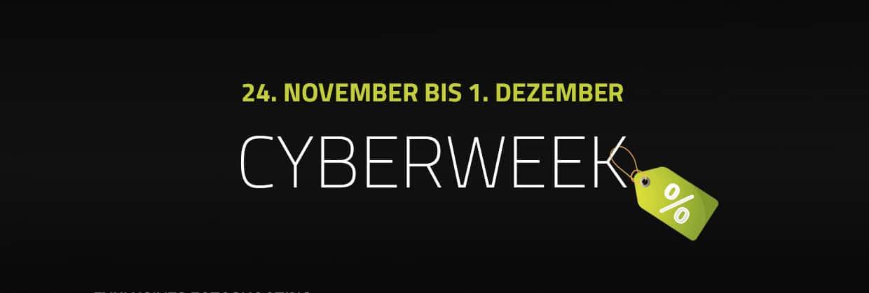 Cyberweek – exklusive Leistungen zum super Preis