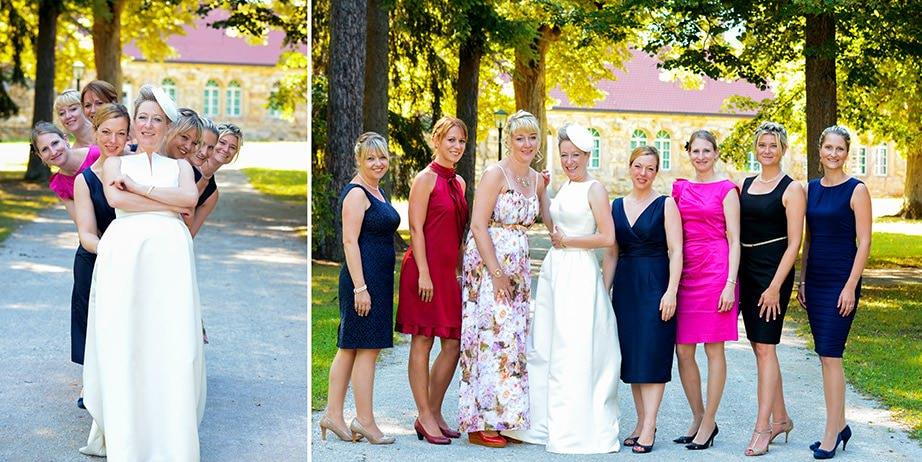 Hochzeitsfotograf-Gruppenbild-Damen-Herren-kreative-Hochzeitsreportagen-Max-Hörath-Design