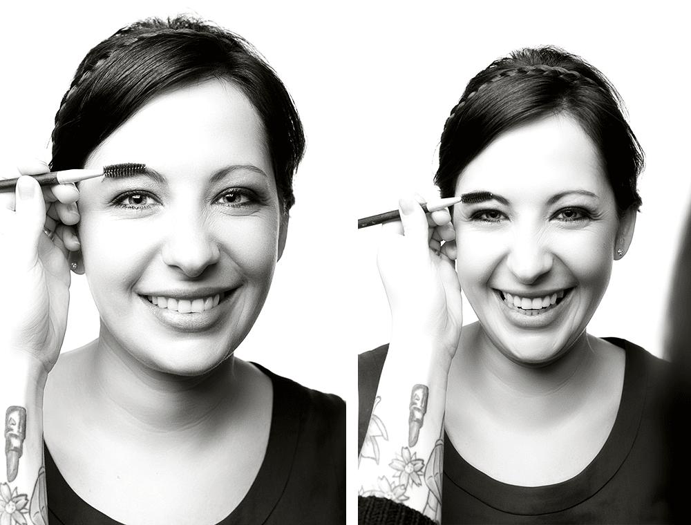Haare & Makeup Artist – Visagist der eigentliche Star – Stefanie Semmelroch