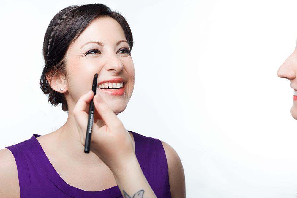 Haare Makeup Artist Visagist Der Eigentliche Star Stefanie