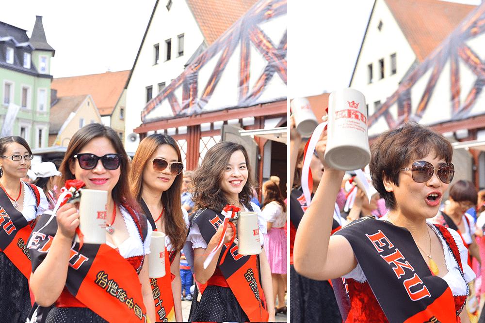 Kulmbacher-Bierwoche-Bierfest-Fanumzug-reichardt-lehmann--Zejmon-eku-kapuziner-mönchshof-fanclub-shanghaiinternationale-gäste-china-usa-amerika-franken-kulmbach