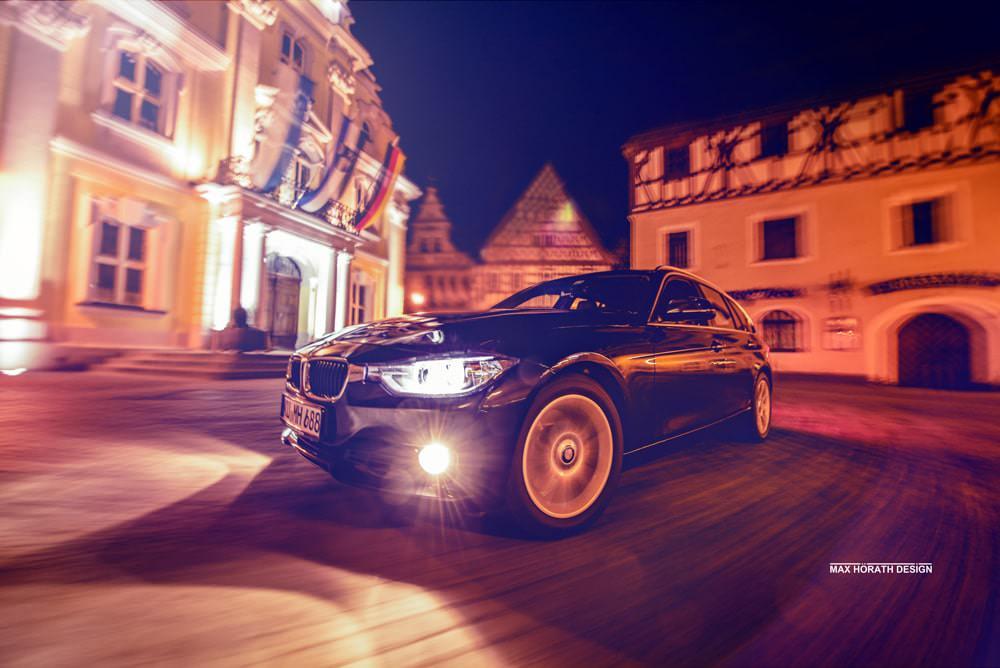 Bmw-Audio-3er-autofoto-car-photographie-car-rig-kulmbach-rathaus-nachtaufnahme-fotokurs-kulmbach-bayreuth-pegnitz-kronach-tuning-fotograf