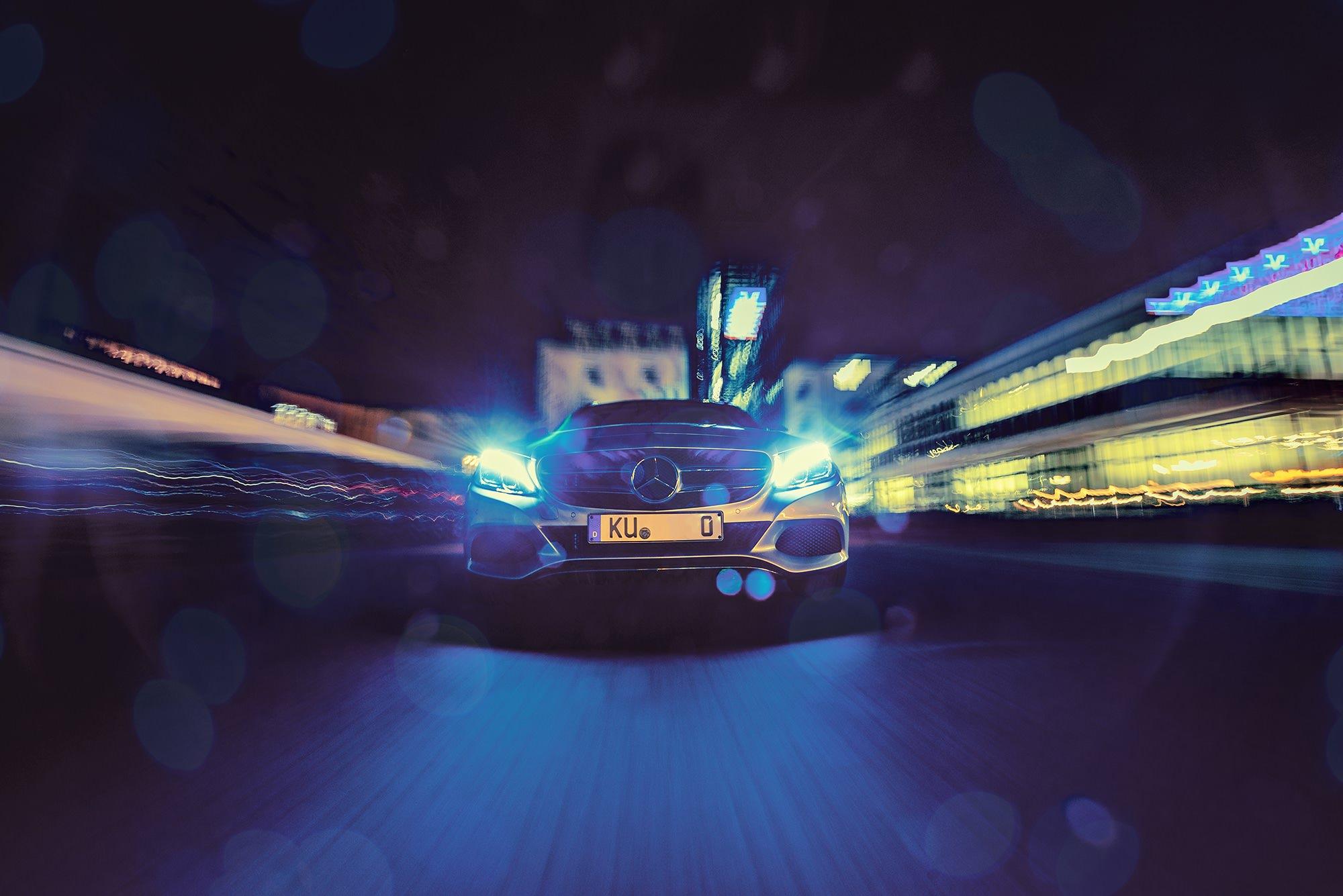 Automobil Fotografie die Zweite – Mercedes Benz C Klasse – Car Rig