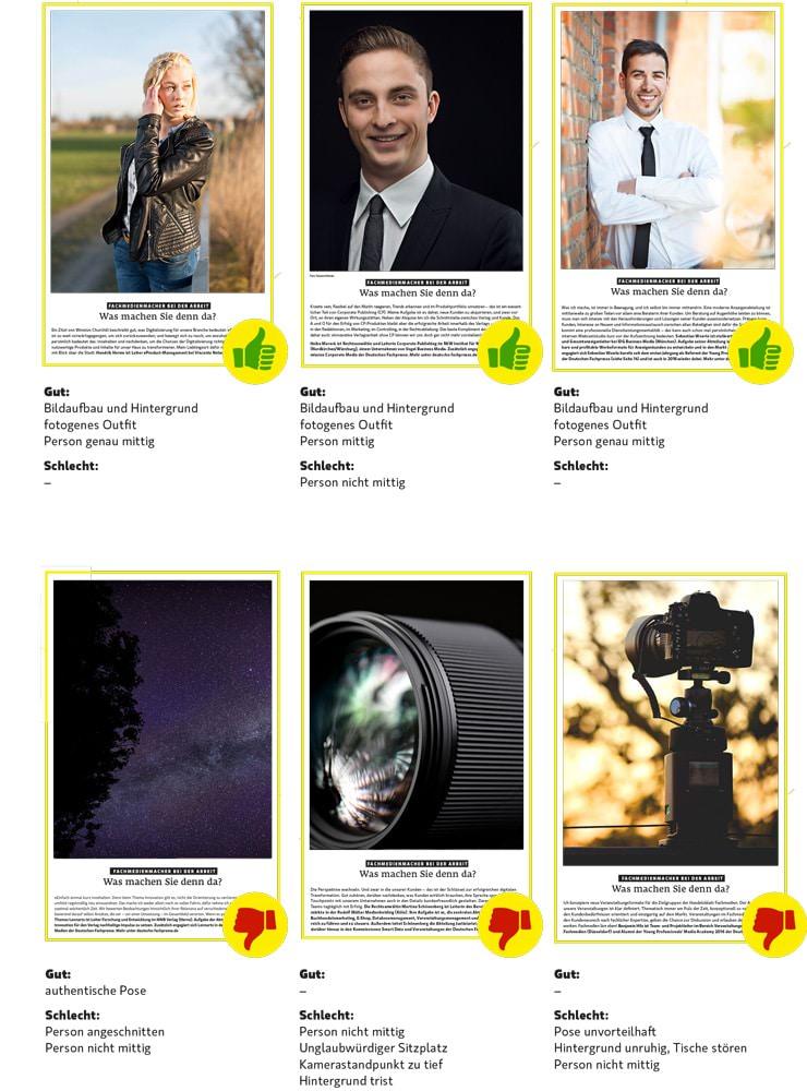 Businessbilder Fotobriefing