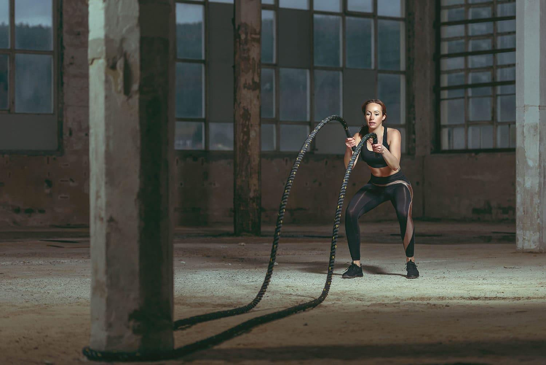 Werbefotografie: Fitnessmodel & Trainerin Patricia