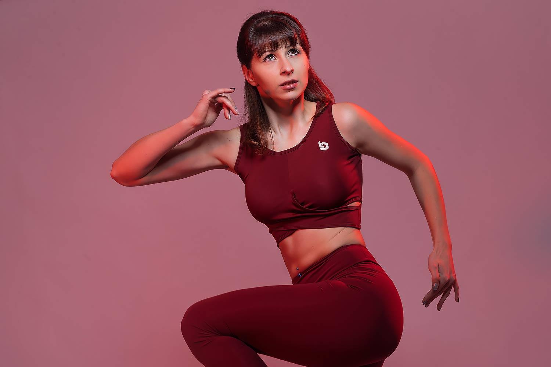 Fotoshooting mit Fitnessmodel Wiktoria