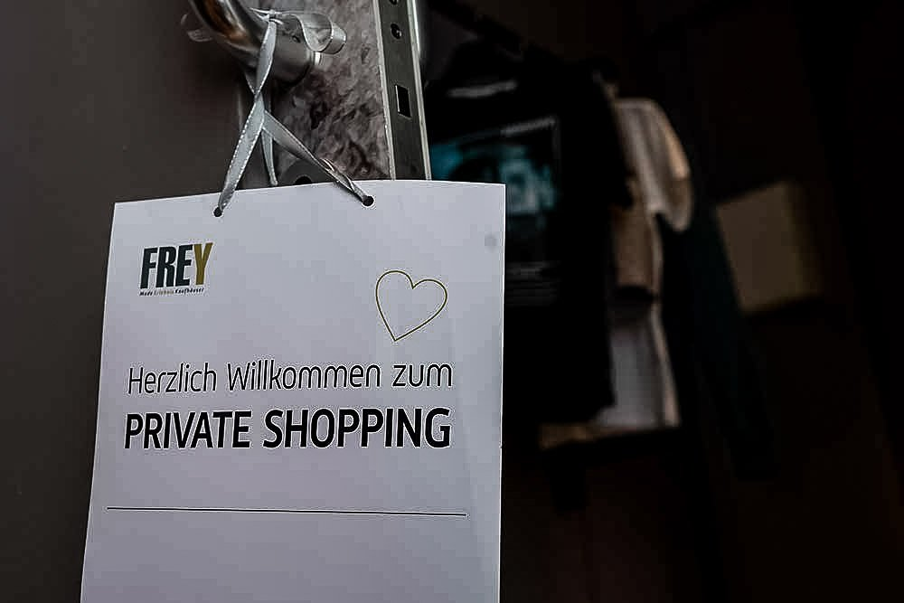 Private Shopping Lounge Frey