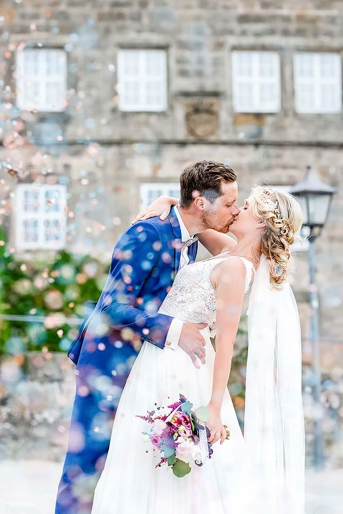 Hochzeitsfeier in der Bastion Marie