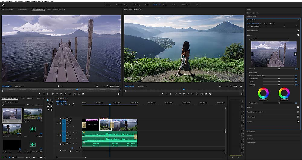 Videograph Max Hörath - Postproduktion