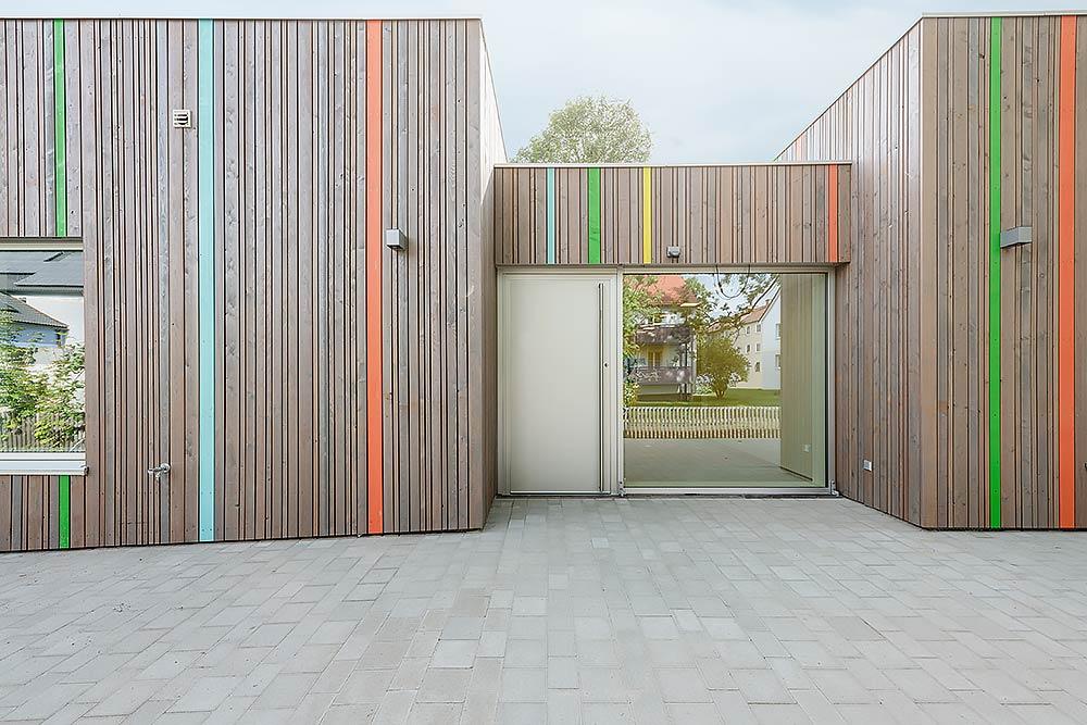 Architekturfotografie Kindergarten Sternenhimmel Kronach