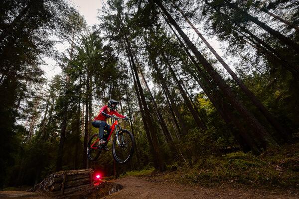 Actionfotograf Downhill Mountainbiking Kronach