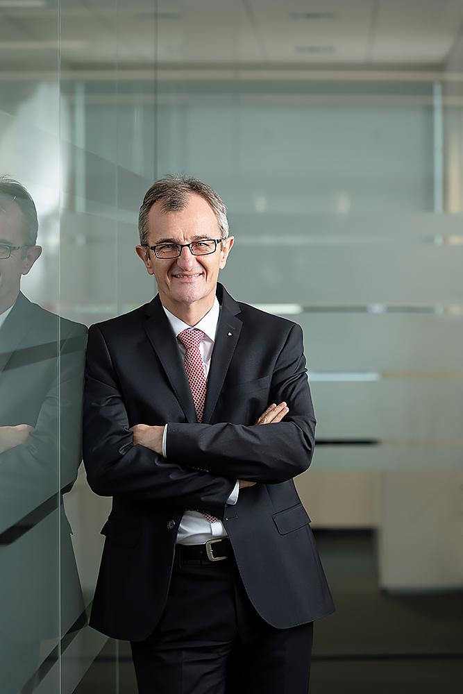 Werbefotograf Max Hörath Vorstand Harry Weiß