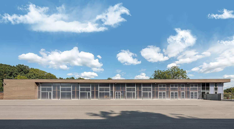 Baubetriebshof Rosenau bei Coburg - H2M